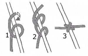 The Clove-hitch knot