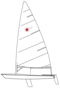 The Laser Dinghy - 3 sailboats in 1