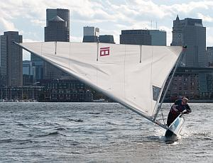 Learning to sail can be challenging