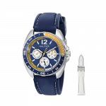 Nautica Men's N09915G Sport Ring Multifunction Stainless Steel Watch
