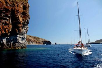 There are yacht charter options where you can either charter your own yacht or join like-minded sailors on a sailing adventure