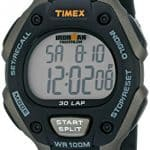 "Timex Men's T5E901 ""Ironman"" Watch with Black Resin Band"