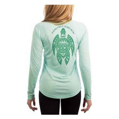 SAND.SALT.SURF.SUN. Women's Turtle UPF Performance T-shirt