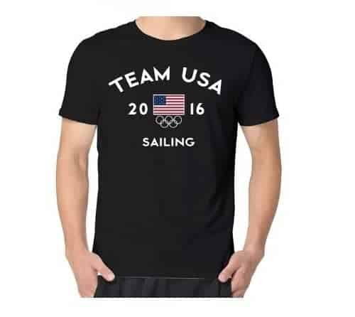 Men's Team USA 2016 Olympics Sailing T-shirt