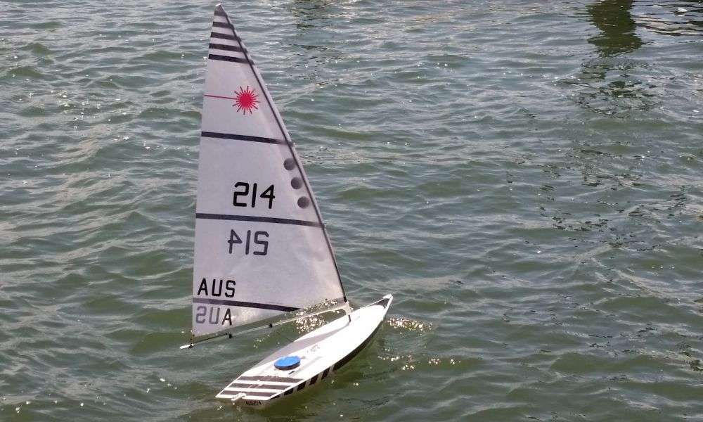 RC Laser Sailboat - Review & Beginners Guide | Laser Sailing Tips