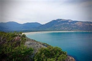 Tidal Beach in Wilsons Promontory, Victoria, Australia