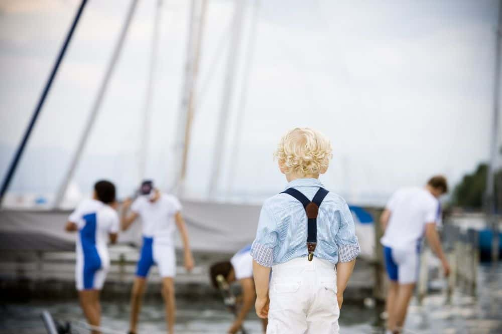 Boy on Sailing Holiday