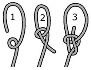 laser sailing knots