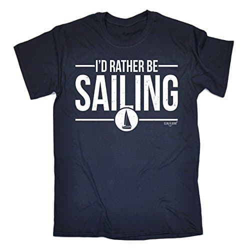 Men's I'd Rather Be Sailing T-SHIRT