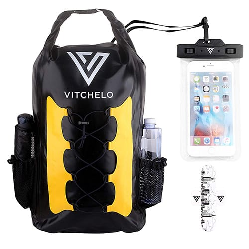 Vitchelo 30L Waterproof Dry Bag Backpack