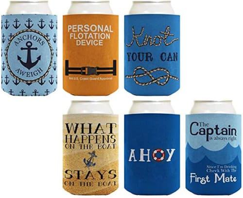 Sailing Can Coolers 6-pack