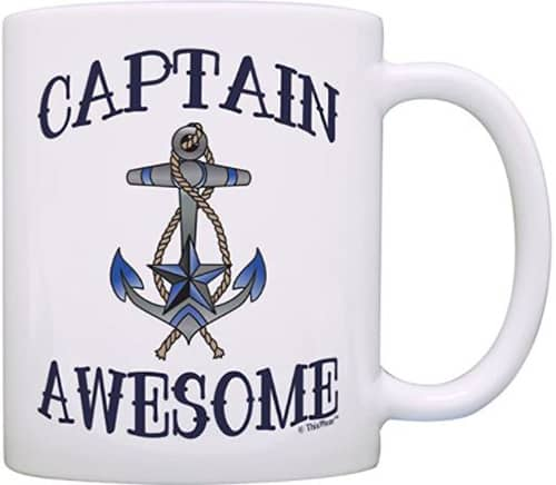 Captain Awesome Tea & Coffee Sailing Mug