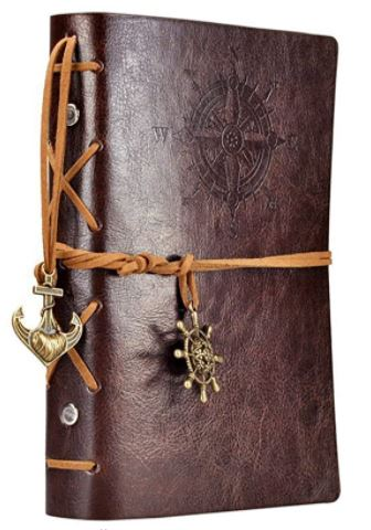 Leather Sailing Writing Journal Notebook