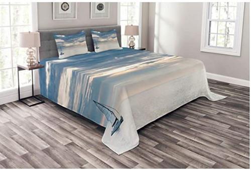Nautical Seascape Bedspread
